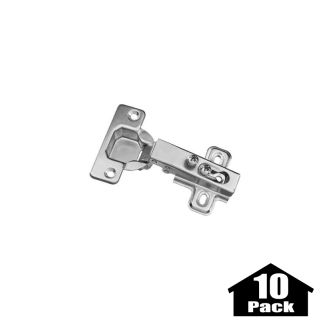 Stanley Home Designs BB8180PST 10PACK Zinc Plated 3.75 Inch Flush Self  Closing Concealed Cabinet Hinge   10 Pack   PullsDirect.com Part 44