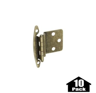 stanley home designs bb8197ab 10pack antique brass 275 inch non spring cabinet hinge with 375 inch offset 10 pack pullsdirectcom. beautiful ideas. Home Design Ideas