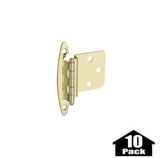 stanley home designs bb8197ab 10pack antique brass 275 inch non spring cabinet hinge with 375 inch offset 10 pack pullsdirectcom - Stanley Home Designs