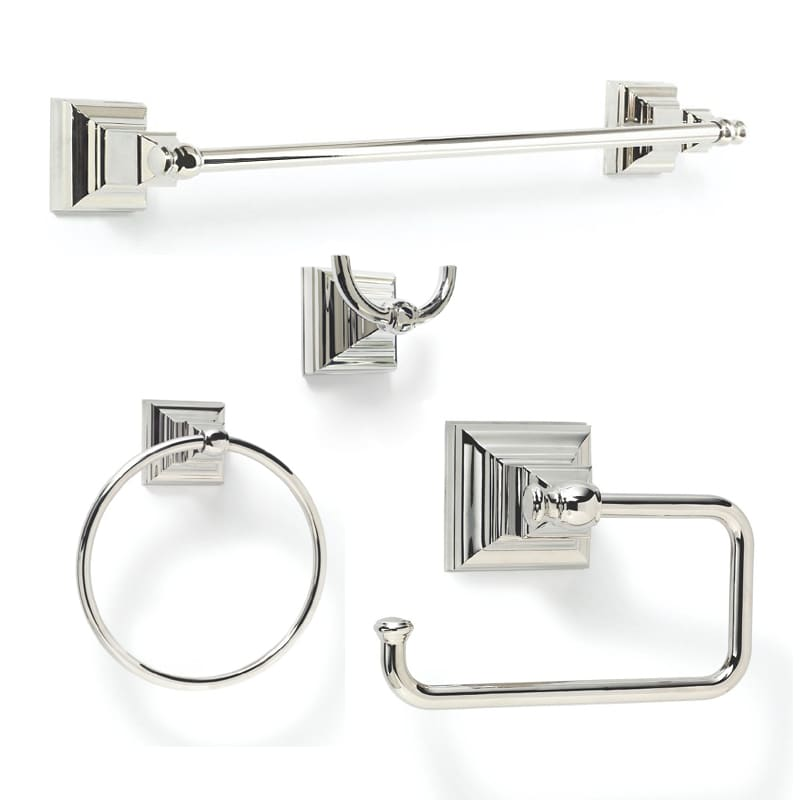 Model  Piece Magnifico Chrome Decorative Bathroom Hardware Set At Lowescom