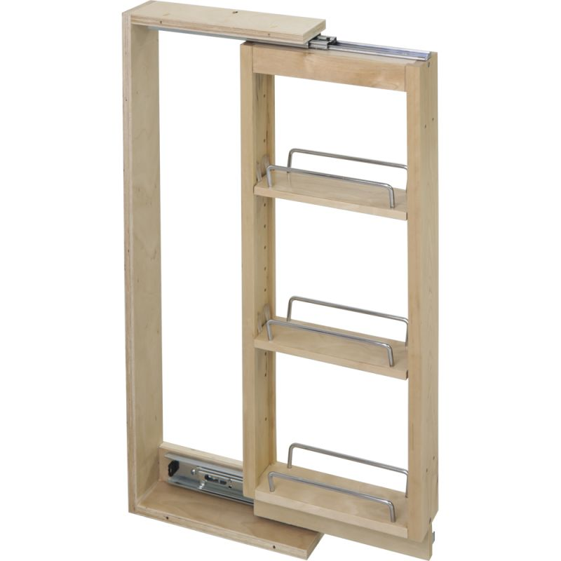 Slide Out Closet Shelves: Hardware Resources WFPO636 Natural 36 Inch Tall 6 Inch