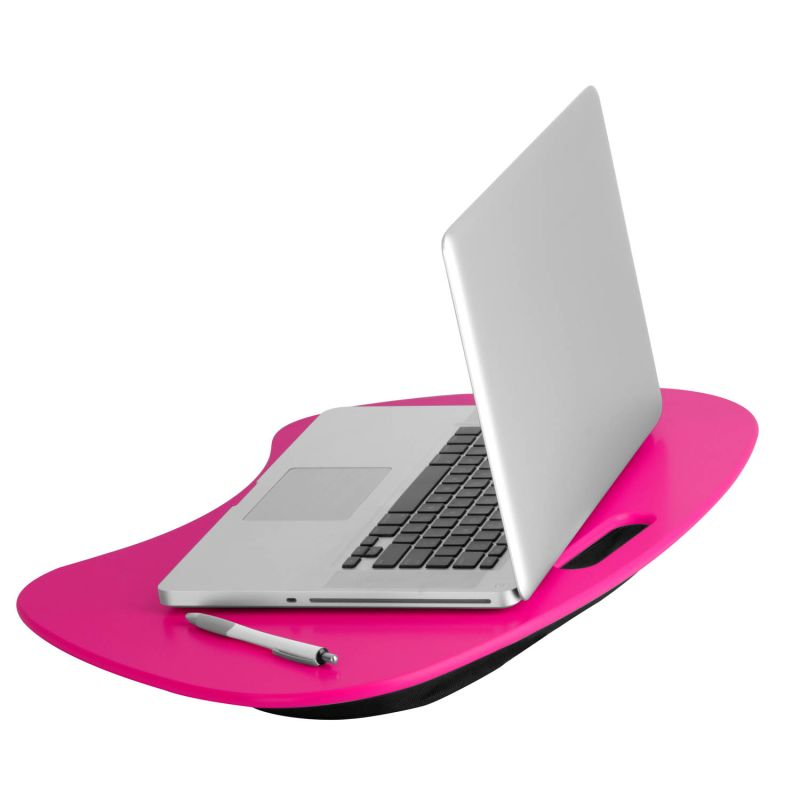 Honey-Can-Do TBL-06322 Pink Laptop Stand Honey-Can-Do TBL-06322 Portable Laptop Desk with Handle