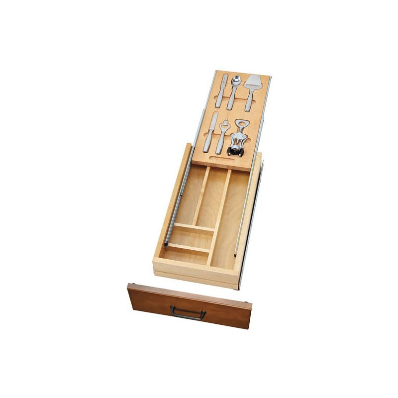 rev a shelf 4wtbd 15 sc 1 natural wood 4wtbd series tiered. Black Bedroom Furniture Sets. Home Design Ideas