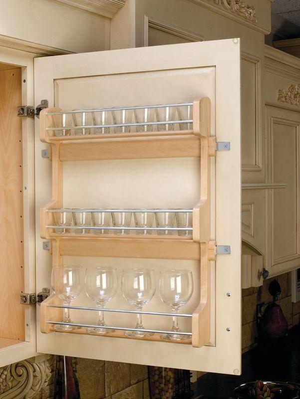 rev a shelf 4sr 21 natural wood 4sr series door mount. Black Bedroom Furniture Sets. Home Design Ideas