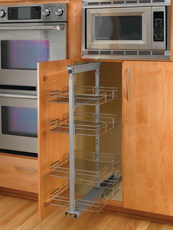 rev a shelf 5243 20n cr chrome 5200 chrome series 20 pull. Black Bedroom Furniture Sets. Home Design Ideas