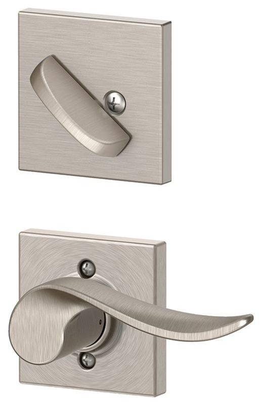 Schlage F59sac619collh Satin Nickel Sacramento Left Handed