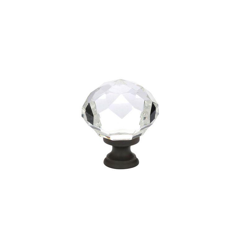 Emtek 86209us10b Oil Rubbed Bronze Diamond 1 3 4 Quot Crystal